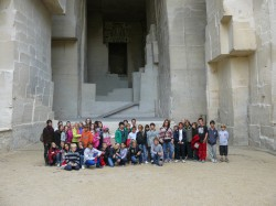 STUDENTS VISIT VAN GOGH EXHIBIT - IBS of Provence - International Bilingual School of Provence