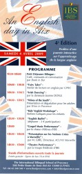 ENGLISH DAY IN AIX AT IBS - IBS of Provence - International Bilingual School of Provence