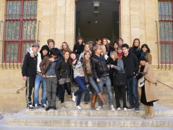 IBS STUDENTS AND PICASSO - IBS of Provence - International Bilingual School of Provence