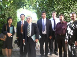 JAPANESE MINISTRY OF FOREIGN AFFAIRS VISITS IBS - IBS of Provence - International Bilingual School of Provence