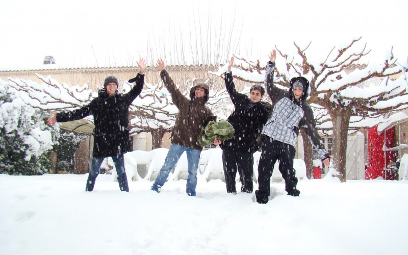 SNOW IN PROVENCE AT IBS - IBS of Provence - International Bilingual School of Provence
