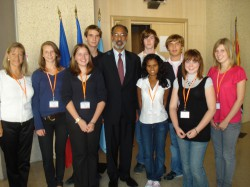 STUDENTS ATTEND UNITED NATIONS CONFERENCE - IBS of Provence - International Bilingual School of Provence
