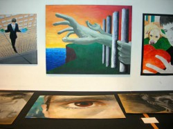 STUDENT ART EXHIBIT - IBS of Provence - International Bilingual School of Provence