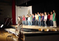 GOSPEL CHOIR VISITS ISN - IBS of Provence - International Bilingual School of Provence