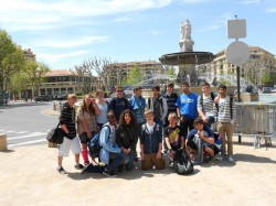 ISI STUDENTS VISIT PROVENCE - IBS of Provence