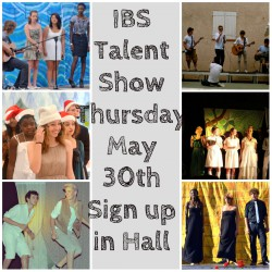 IBS STUDENTS GOT TALENT !