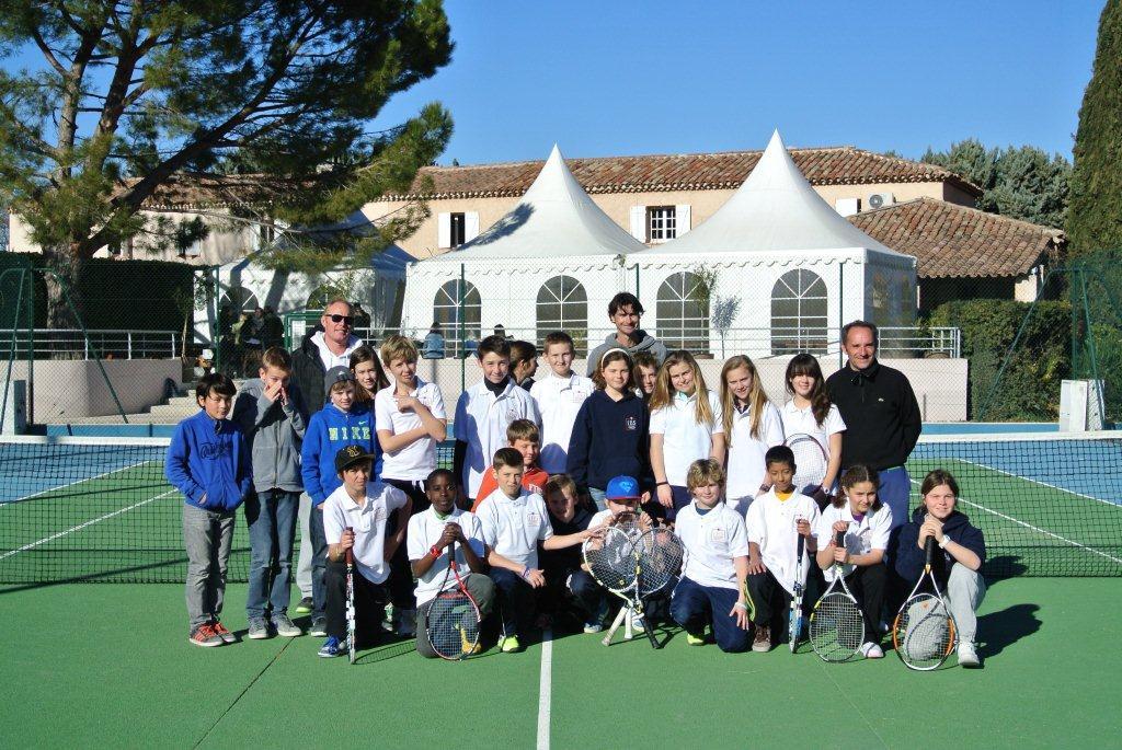 School life - IBS of Provence - Tennis Academy