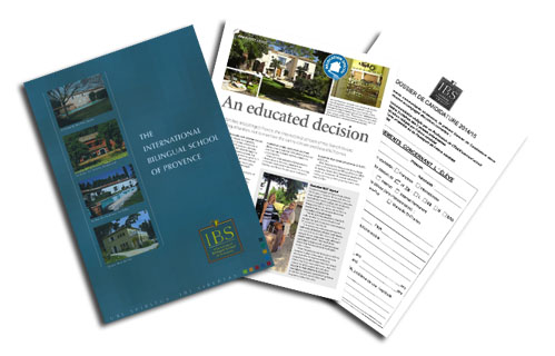 Request a School Brochure - IBS of Provence