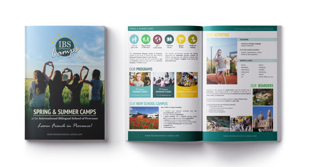 Brochure of IBS Spring & SummerCamps